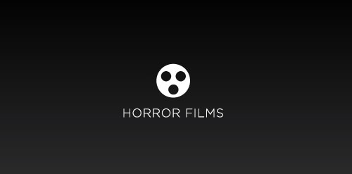 Horror Films logo design