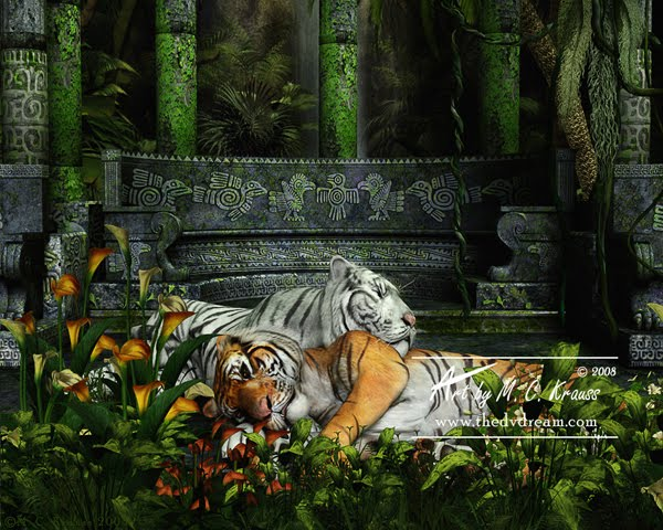 Sanctuary tiger 3d