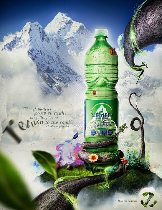 Eco Bottle Ad