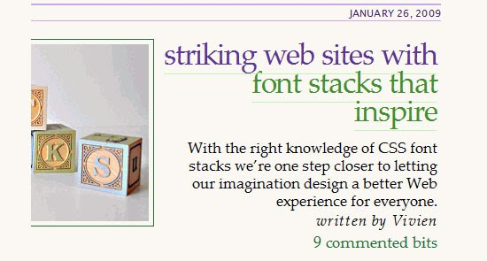 Useful Design Tools For Beautiful Web Typography