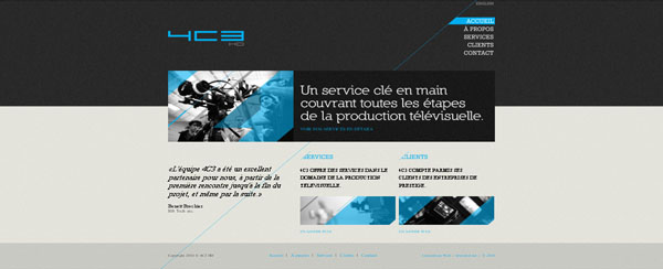 4c3 HD web design