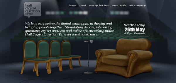 HDQT web design