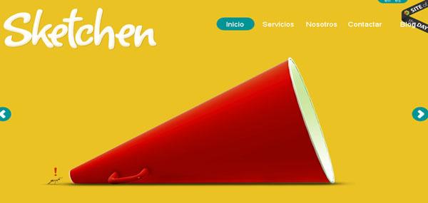 Sketchen web design