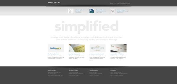 Daniel Collins web design