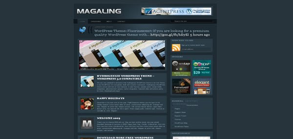 Magaling Reloaded WordPress theme