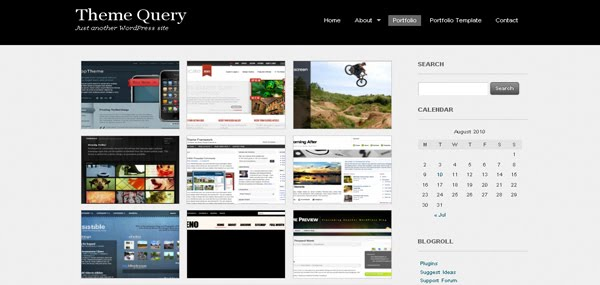 Theme Query WordPress Theme