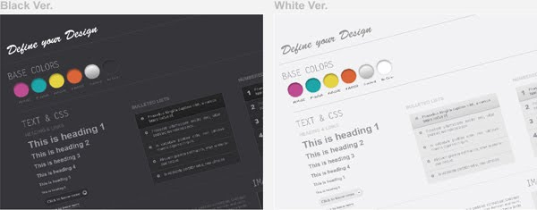 Web Wireframe Kit