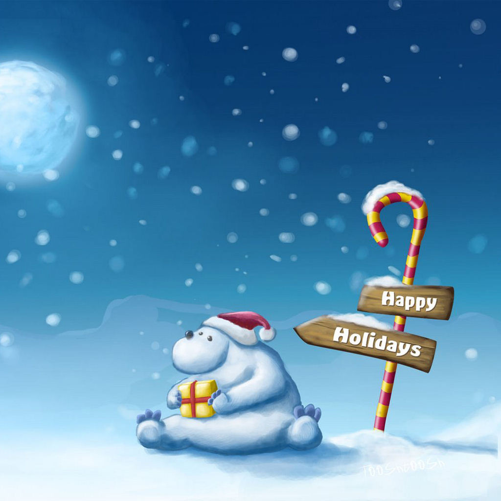 25 Awesome Christmas Wallpapers For IPad