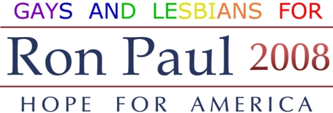 Gays & Lesbians for Ron Paul