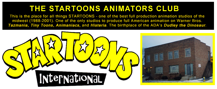 THE STARTOONS ANIMATORS CLUB