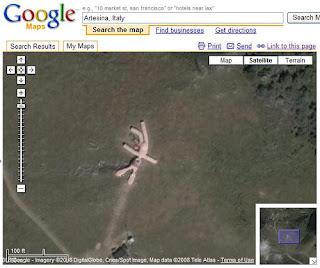 google, maps, coniglio