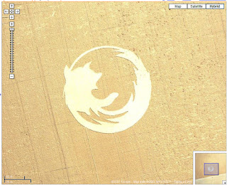 google, maps, logo, grano, cerchio, firefox