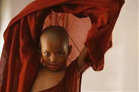 Birmania, protesta, monaci