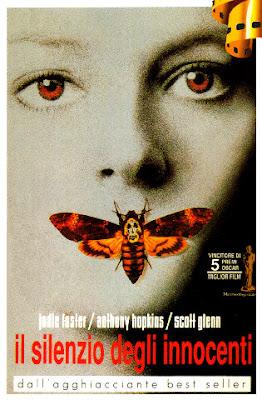 locandina, film, silenzio degli innocenti