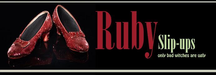 Ruby Slip-ups
