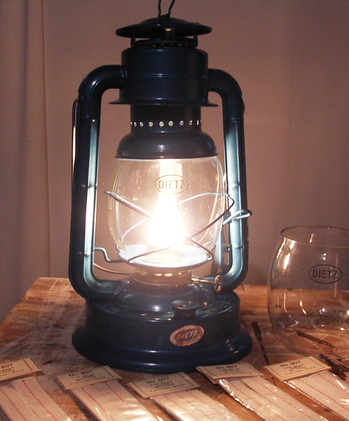 Living Prepared Oil Lantern