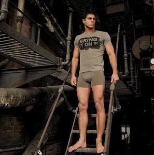 Rafael Verga in Giulio underwear