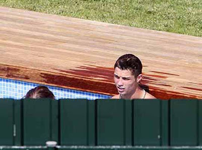 Wet Cristiano Ronaldo