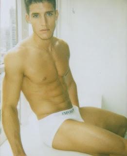 Male model Tyler Kenyon