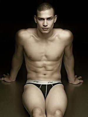 Male model Santiago Peralta