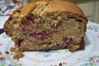 Strawberry Sour Cream Bread