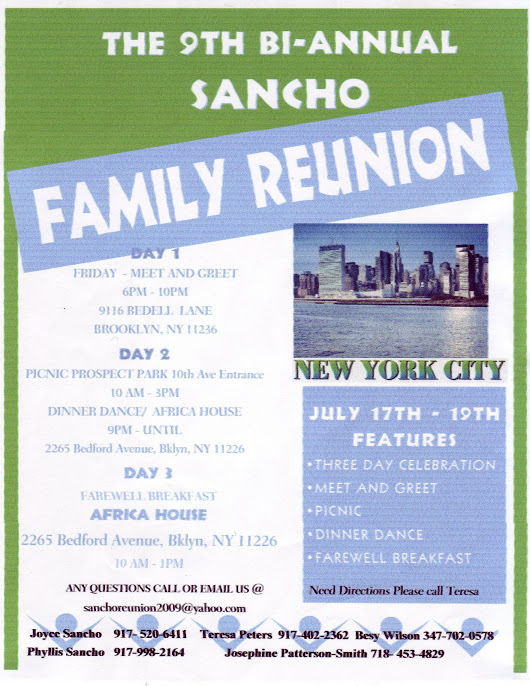 Who are Descendants of Clarence Sancho and Mary (David) Sancho?