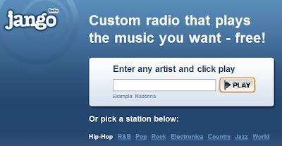 Jango Internet Radio Station Online