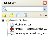 ScrapBook firefox extension