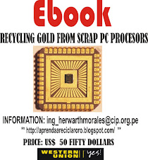 RECYCLING GOLD FROM SCRAP PC PROCESORS