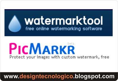 Criar marca d'água fotos