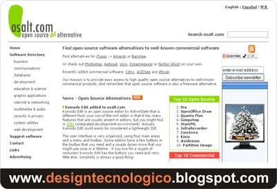 Alternativa programas grátis online