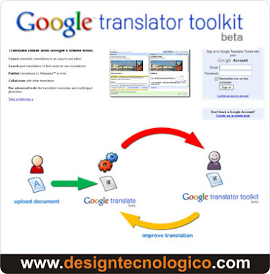 Google Translator Toolkit traduzir documentos