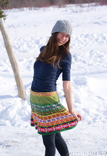 prairie skirt maude design