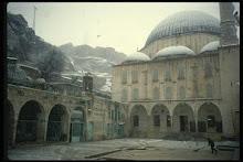 Ábrahám kegyhelye hóban, Urfa