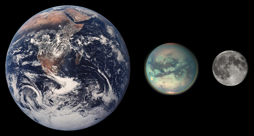 NASA Finds Ingredient for Plastic on Saturn's Moon Titan ...