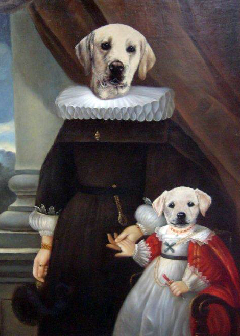 Whats up trouvaillesdujour The Art of Thierry Poncelet  Ancestral Dogs