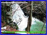 Nº 9 Cascada del Tubo. Reserva Natural del Río Urederra. Parque Natural Urbasa. Ruta de las Cascadas desde Baquedano , Centro de Turismo Rural y Agroturismo  Casa Rural Navarra Urbasa Urederra. Ven a conocernos… te sorprenderás