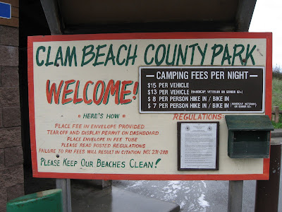 Very Few Parks In California Allow Camping Right On The Beach But Clam County Park Is One Of Them A Wide And Long Stretch Flat Sline