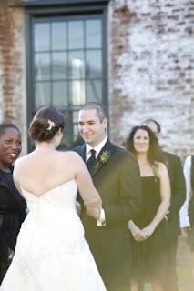 My wedding, featured on Elizabeth Anne Designs