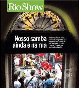 capa da revista RIOSHOW de 21 de março de 2008