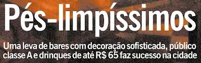 capa da revista RIO SHOW, de O GLOBO, de 21 de novembro de 2008