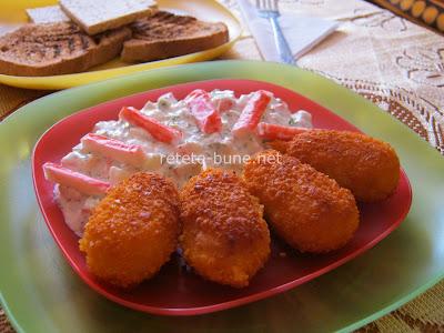 salata de surimi cu muslitos