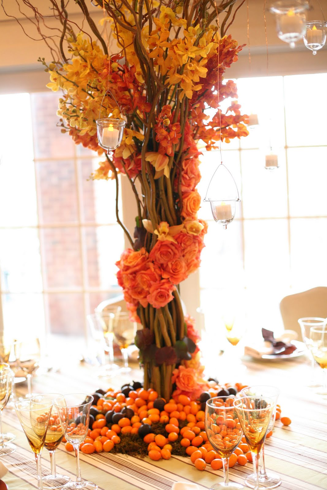 Jessicas Country Flowers Rustic table setting