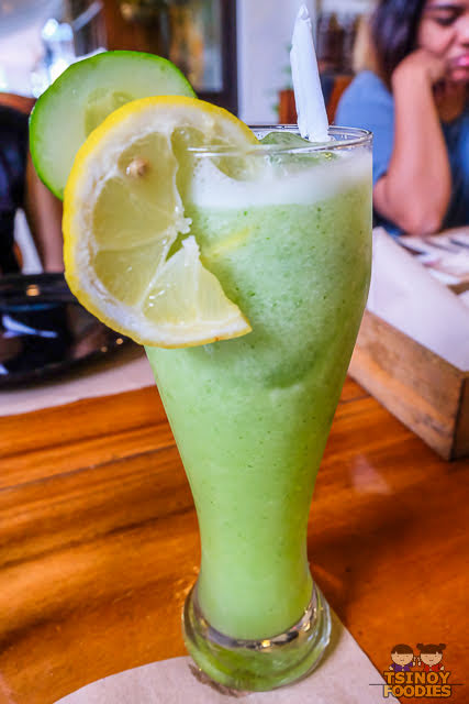 lemon cucumber shake
