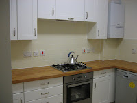 Kitchen in a flat in Hampstead London