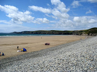 Beach in Newgale Wales