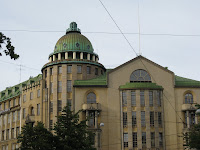 Art Deco building in Helsinki Finland