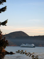San Juan Islands ferry in Washington