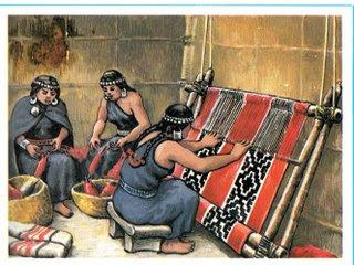 Nacion Mapuche: TEJEDORAS MAPUCHES (NGÜREFE PU MAPUNCHE DOMO)
