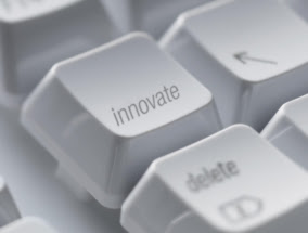 the INNOVATE button
